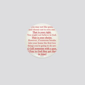 Pro Gun Quote Mini Button